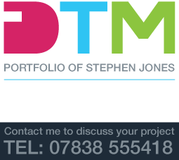 Portfolio of Stephen Jones – Freelance Digital Designer